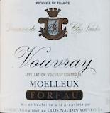 Domaine du Clos Naudin (Foreau) Moelleux label
