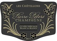 Pierre Péters Cuvée Spéciale Les Chétillons Blanc de Blancs Grand Cru label