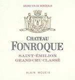 Château Fonroque  Grand Cru Classé label