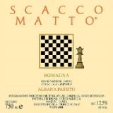 Fattoria Zerbina Scaccomatto Passito label