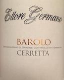 Ettore Germano Barolo Cerretta label