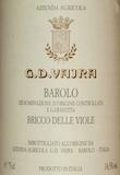 G.D. Vajra Barolo Bricco delle Viole label