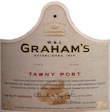 Graham's Porto  30 Year Old Tawny Port label