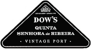 Dow's Porto Quinta da Senhora da Ribeira Vintage Port label