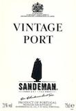 Sandeman Porto  Vintage Port label