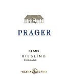 Prager Riesling Klaus Smaragd label