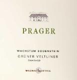 Prager Grüner Veltliner Wachstum Bodenstein Smaragd label