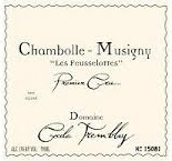 Domaine Cécile Tremblay Chambolle-Musigny Premier Cru Les Feusselottes label