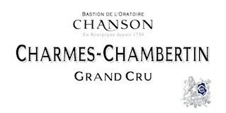 Chanson Père et Fils Charmes-Chambertin Grand Cru  label