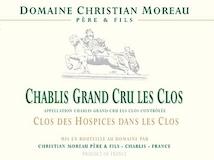 Domaine Christian Moreau Père et Fils Chablis Grand Cru Les Clos Clos des Hospices dans les Clos label
