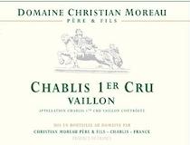 Domaine Christian Moreau Père et Fils Chablis Grand Cru Valmur label