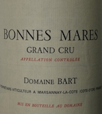 Domaine Bart Bonnes-Mares Grand Cru Bonnes Mares label