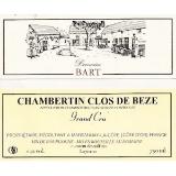 Domaine Bart Chambertin Clos de Bèze Grand Cru  label