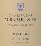 Agrapart et Fils Mineral Blanc de Blancs Extra-Brut Grand Cru label