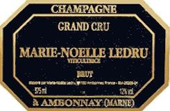 Marie Noëlle Ledru Brut Grand Cru label