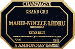 Marie Noëlle Ledru Extra Brut Grand Cru label