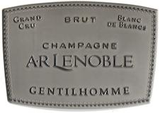 A. R. Lenoble Gentilhomme Blanc de Blancs Grand Cru label