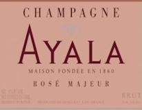 Ayala Rosé Majeur label