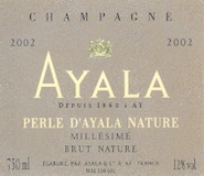 Ayala Perle d'Ayala Grand Cru label