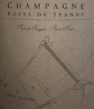 Roses de Jeanne Rosé de Saignée Creux D'Enfer label