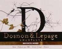 Dosnon & Lepage Récolte Noire Brut label