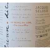 Jacques Selosse Blanc de Blancs Les Carelles Grand Cru label