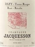 Jacquesson Dizy Terres Rouges Rosé label