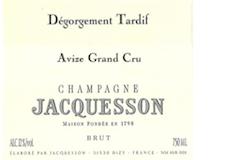 Jacquesson Dégorgement Tardif Avize Grand Cru label