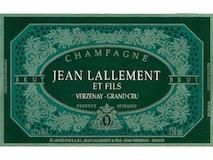 Jean Lallement Brut Grand Cru label