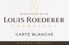Louis Roederer Carte Blanche Sec label