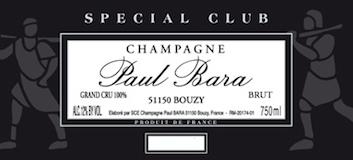 Paul Bara Spécial Club Grand Cru label