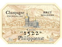 Philipponnat 1522 Brut Grand Cru label