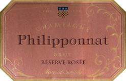 Philipponnat Royal Réserve Rosé (formerly Réserve Rosée) label