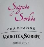 Vouette et Sorbée Cuvée Rosé Saignée de Sorbée label