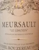Michel Bouzereau et Fils Meursault Le Limozin label