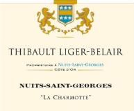 Domaine Thibault Liger-Belair Nuits-Saint-Georges Grand Cru La Charmotte label