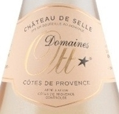 Domaines Ott Château de Selle Rosé Coeur de Grain label