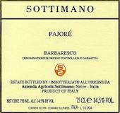 Sottimano Barbaresco Pajore label