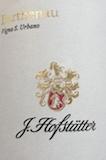 J. Hofstätter Barthenau Vigna S Urbano label