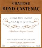 Château Boyd-Cantenac  Troisième Cru label