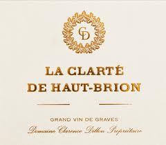 Château Haut-Brion La Clarté de Haut Brion label