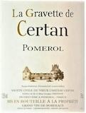 Vieux Château Certan La Gravette de Certan label