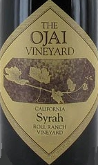 The Ojai Vineyard Roll Ranch Syrah label