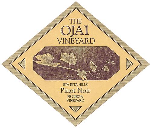 The Ojai Vineyard Fe Ciega Pinot Noir label