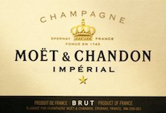 Moët & Chandon Brut Impérial label