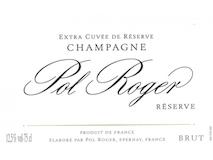 Pol Roger Brut Réserve label