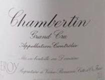 Domaine Leroy Chambertin Grand Cru  label