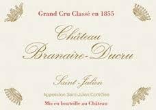Château Branaire-Ducru  Quatrième Cru label