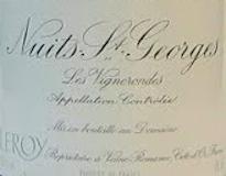 Domaine Leroy Clos de la Roche Grand Cru  label