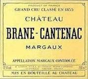 Château Brane-Cantenac  Deuxième Cru label